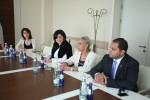 შეხვედრა ქუვეითის პრინცესასთან,  არაბ საქმიან ქალთა საბჭოს პრეზიდენტთან  შეიხა ჰესა საად აბდულა ალ-საბაჰთან