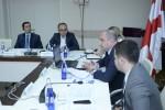 შეხვედრა დონორ და საერთაშორისო ორგანიზაციების წარმომადგენლებთან