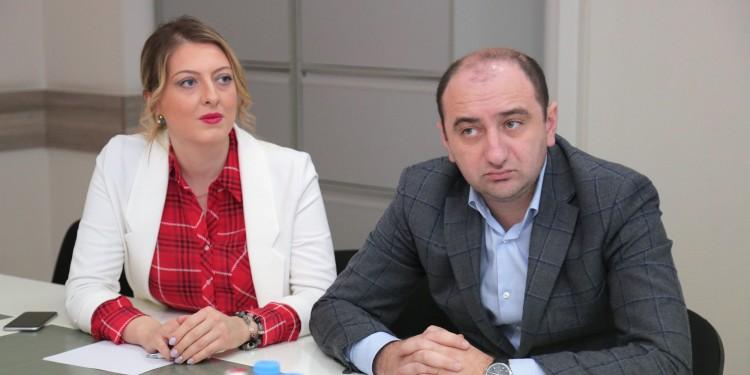 ირაკლი ლექვინაძე პოლონეთის ინვესტიციებისა და ვაჭრობის სააგენტოს თბილისის ბიუროს ხელმძღვანელს შეხვდა