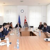 Meeting with representatives of economic departments of Georgia-based embassies