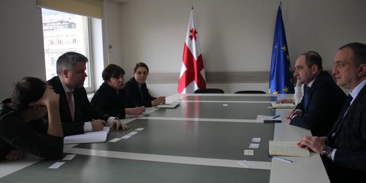 ბიზნესომბუდსმენის შეხვედრა მსოფლიო ბანკის წარმომადგენლებთან