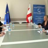 შეხვედრა მსოფლიო ბანკის  ჯგუფის საერთაშორისო საფინანსო კორპორაციის (IFC)  წარმომადგენლებთან