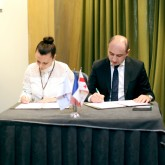 Signing of a Memorandum between the French Chamber of Commerce and the Swiss Business Association with the Business Ombudsman