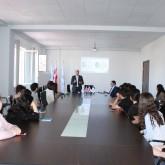 ირაკლი ლექვინაძემ საავიაციო უნივერსიტეტის სტუდენტებს ბიზნესომბუდსმენის აპარატის საქმიანობა  გააცნო
