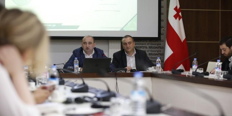 შეხვედრა საქართველოში აკრედიტირებული დიპლომატიური კორპუსის,  საერთაშორისო  და დონორი ორგანიზაციების წარმომადგენლებთან