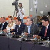 Meeting with the representatives of small and medium enterprises