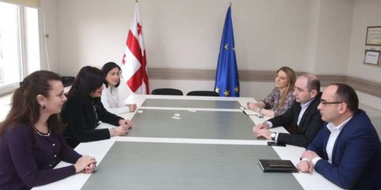"Meeting with Representatives of ""Union of Business Ladies"""